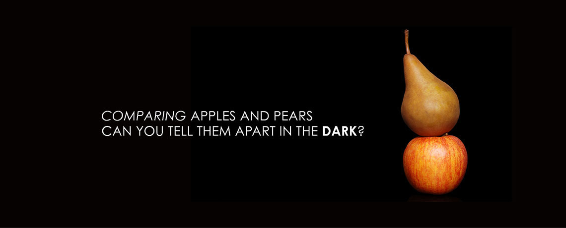 Comparing Apples and Pears